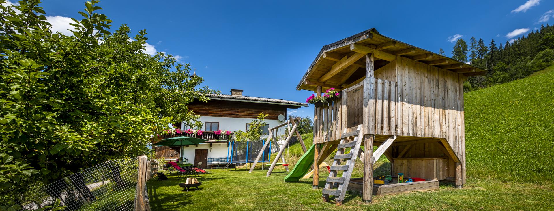 Bauernhof Griesbauer Wagrain Spielplatz